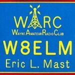 wayne amateur radio club callsign badge